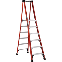 Industrial Extra Heavy-Duty Fibreglass Pro Platform Stepladders (FXP1800 Series) VD417 | NIS Northern Industrial Sales