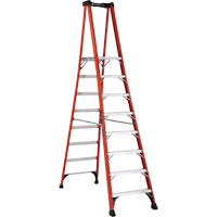 Industrial Extra Heavy-Duty Fibreglass Pro Platform Stepladders (FXP1800 Series) VD418 | NIS Northern Industrial Sales