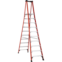 Industrial Extra Heavy-Duty Fibreglass Pro Platform Stepladders (FXP1800 Series) VD419 | NIS Northern Industrial Sales