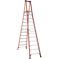 Industrial Extra Heavy-Duty Fibreglass Pro Platform Stepladders (FXP1800 Series) VD420 | NIS Northern Industrial Sales
