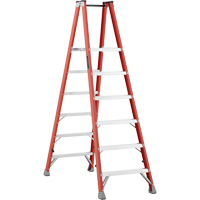 Industrial Heavy-Duty Fibreglass 2-Way Platform Stepladders (FMP1500 Series) VD421 | NIS Northern Industrial Sales