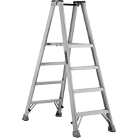 Industrial Heavy-Duty Aluminum 2-Way Platform Stepladders (AMP1500 Series) VD422 | NIS Northern Industrial Sales