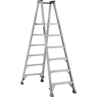 Industrial Heavy-Duty Aluminum 2-Way Platform Stepladders (AMP1500 Series) VD423 | NIS Northern Industrial Sales