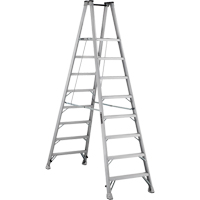 Industrial Heavy-Duty Aluminum 2-Way Platform Stepladders (AMP1500 Series) VD424 | NIS Northern Industrial Sales