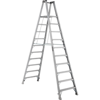 Industrial Heavy-Duty Aluminum 2-Way Platform Stepladders (AMP1500 Series) VD425 | NIS Northern Industrial Sales