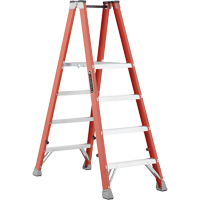 Industrial Heavy-Duty Fibreglass 2-Way Platform Stepladders (FMP1500 Series) VD428 | NIS Northern Industrial Sales