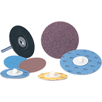 Aluminum Oxide 2 Ply Discs - Lockit<sup>®</sup> Discs VU442 | NIS Northern Industrial Sales