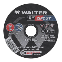 Zipcut™ Right Angle Grinder Reinforced Cut-Off Wheels VV150 | NIS Northern Industrial Sales