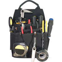 11-Pocket Professional Electrician's Pouches WI969 | NIS Northern Industrial Sales
