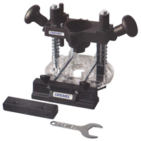Dremel Attatchments- Plunge Router Attachment WJ099 | NIS Northern Industrial Sales
