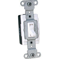 Back And Side Wired 347V AC Quiet Switches - Single-Pole Toggle 15A XA806 | TENAQUIP