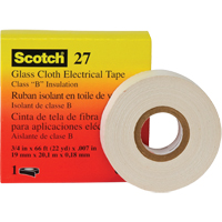 Scotch® 27 Glass Cloth Electrical Tape XC322 | NIS Northern Industrial Sales