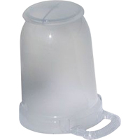 Wobblelight® Replacement Transparent Dome With Cap XC453 | NIS Northern Industrial Sales