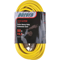 Outdoor Vinyl Extension Cords with Light Indicator - Single Tap  XC495 | NIS Northern Industrial Sales