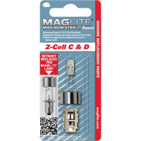 Maglite® Replacement Bulb for 2-Cell C & D Flashlights XC955 | TENAQUIP
