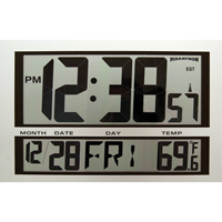 Jumbo Digital Wall Clock XD075 | TENAQUIP