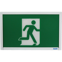 Running Man Exit Sign XE661 | NIS Northern Industrial Sales