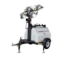 Generac® MLT4150 Light Tower XG905 | NIS Northern Industrial Sales