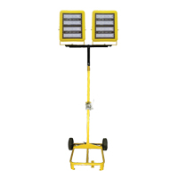 Dual-Head LED Cart with Winch XH113 | NIS Northern Industrial Sales