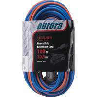 Triple Tap All-Weather TPE-Rubber Extension Cords with Light Indicator XH237 | NIS Northern Industrial Sales