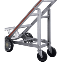 Aluminum Hand Truck Accessories - Retractable 4th Wheel XZ687 | NIS Northern Industrial Sales
