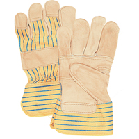 Standard Quality Grain Cowhide Patch Palm Fitters Gloves SFQ696 | NIS Northern Industrial Sales