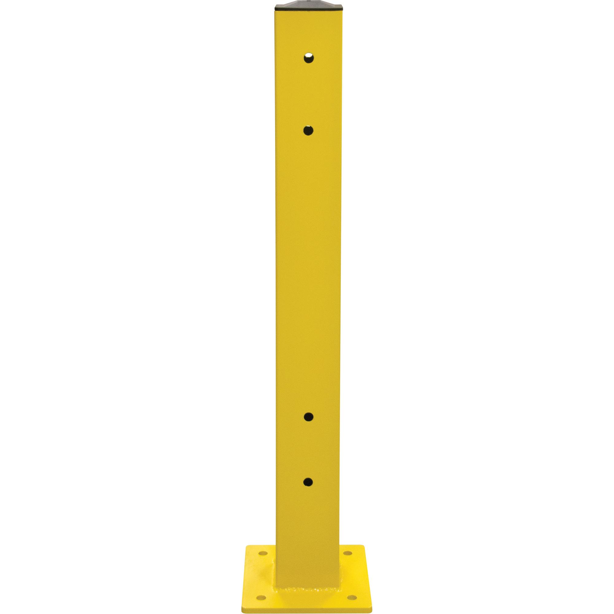 Double Guard Rail Post
