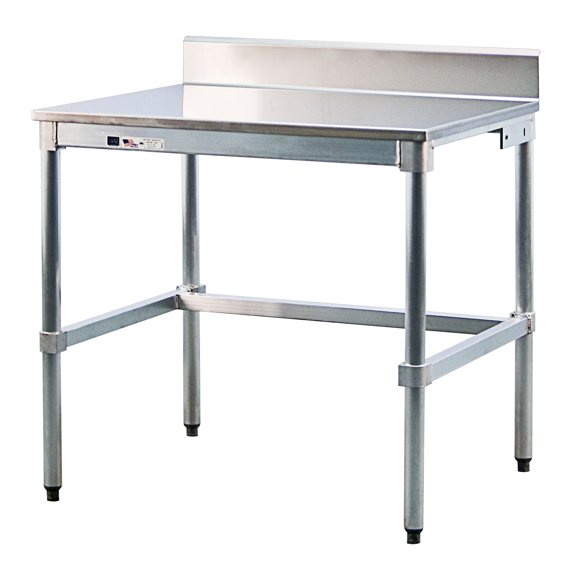 New Age Industrial Stainless Steel Top Workbench Mo476 24ssb48kd Shop Stainless Workbench Tenaquip