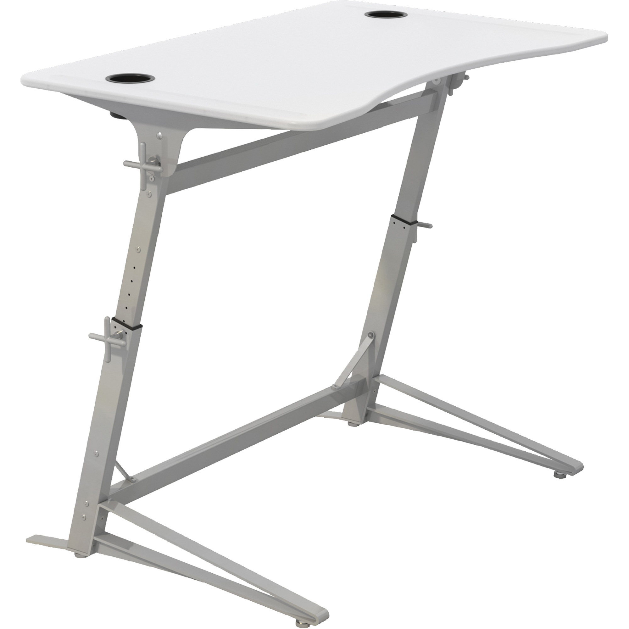 Adjustable Stand Up Desk >> Safco Verve Height Adjustable Stand Up Desk Oq706 1959wh