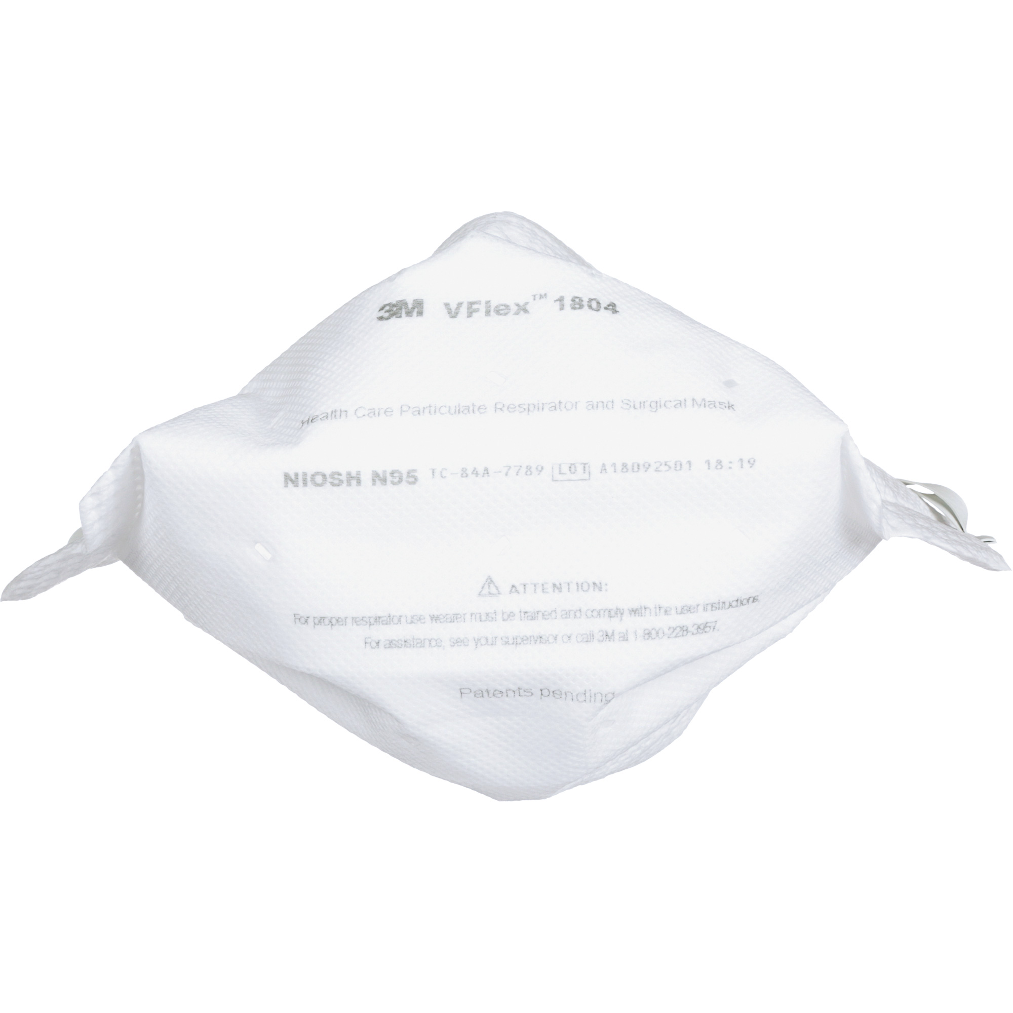 3m vflex healthcare particulate respirator and surgical mask