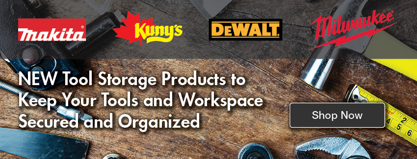 NEW Tool Storage Products to Keep Your Tools and Workspace Secured and Organized