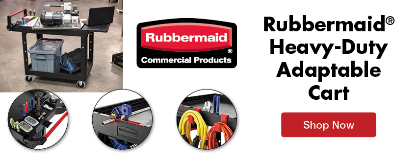Rubbermaid New HD Adaptable Cart