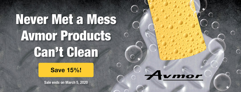 Never Met a Mess Avmor Products Can't Clean