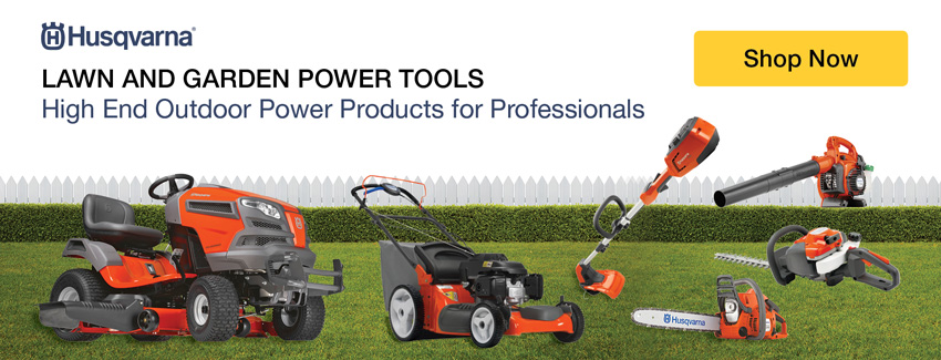 Lawn and Garden Power Tools. High End Outdoor Power Products for Professionals